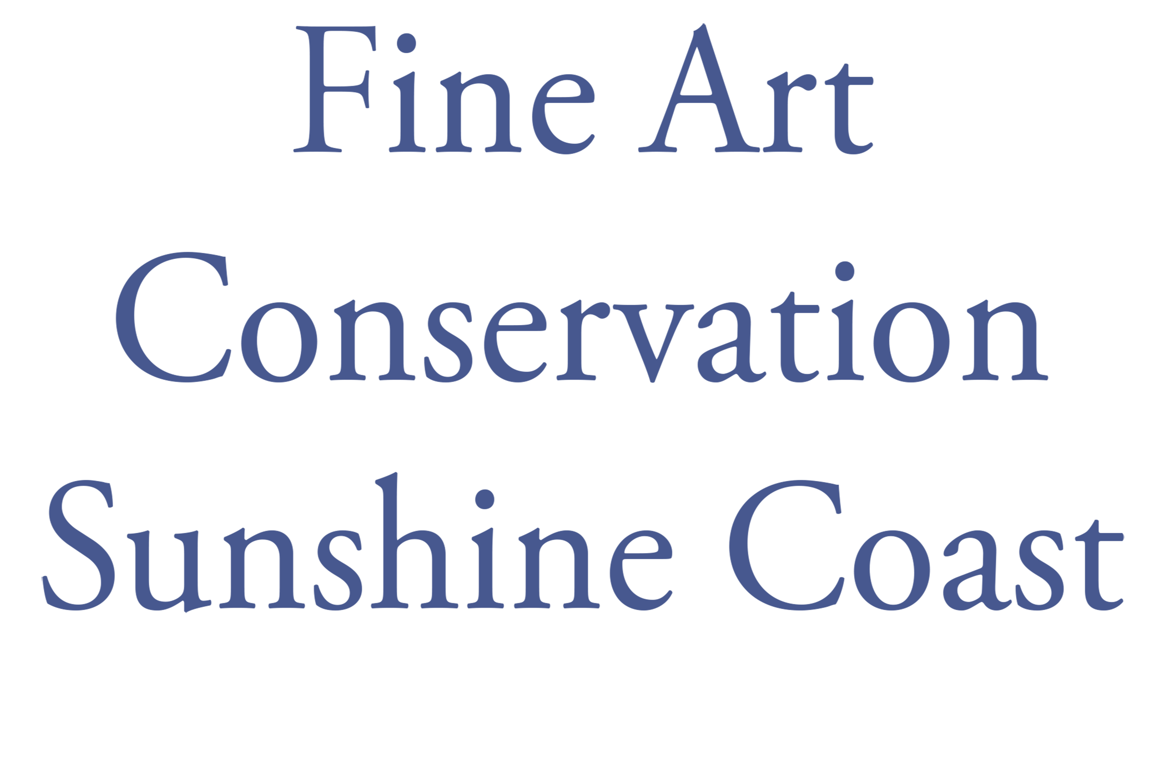 Painting Conservation and Art Collections Management